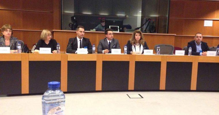 """Документалният филм """"Светият град – Асеновград"""" бе излъчен в Европейския парламент"""
